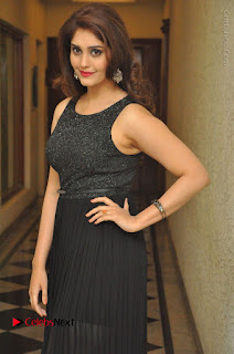 Actress Surabhi Stills in Black Long Dress at turodu Audio Launch  0062.JPG