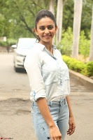 Rakul Preet Singh in Jeans and White Shirt At Jaya Janaki Nayaka le Logo Launch ~  Exclusive 020.JPG