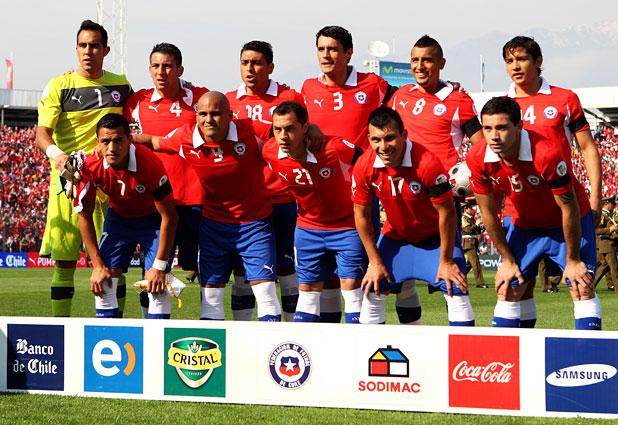 Formación de Chile ante Colombia, Clasificatorias Brasil 2014, 11 de septiembre de 2012
