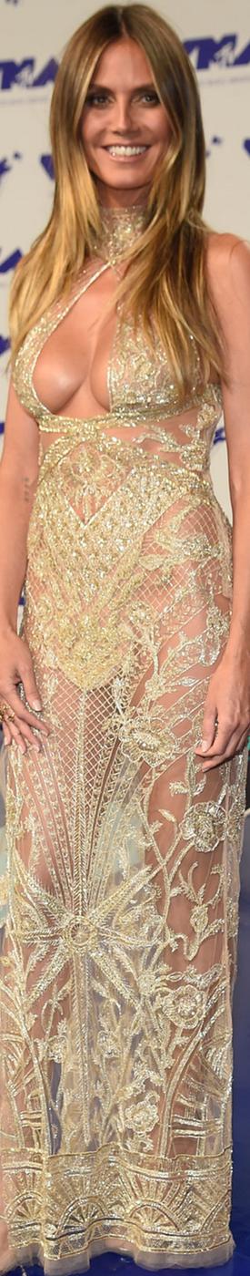 Heidi Klum 2017 MTV VMA's