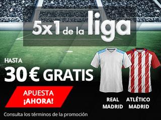 suertia promocion derbi Real Madrid vs Atletico 8 abril