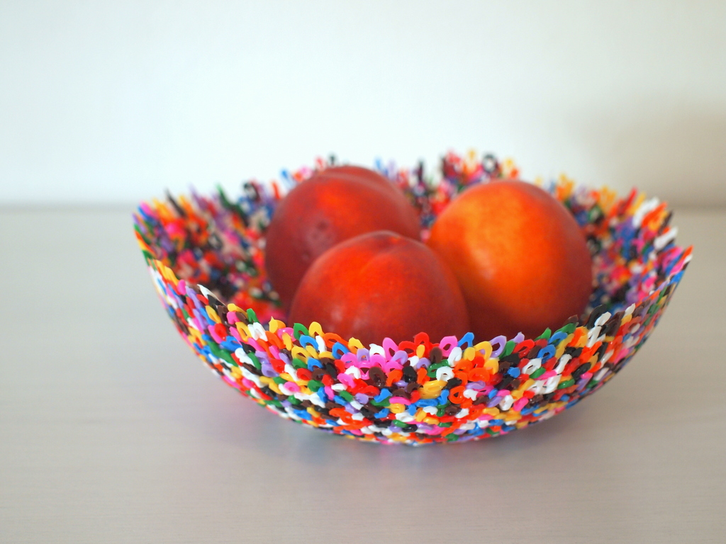 Make Perler bead bowls (and words) | Pink Stripey Socks