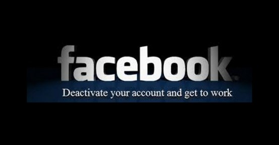 Deactivate your facebook account without deleting