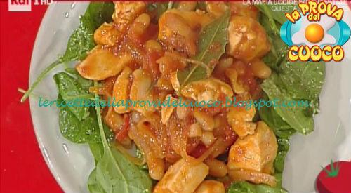 Pollo e fagioli piccante ricetta Bongiovanni da Prova del Cuoco