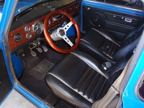 Steering Wheel Restoration >> 1972 Austin Mini Cooper on Blue | Auto Restorationice