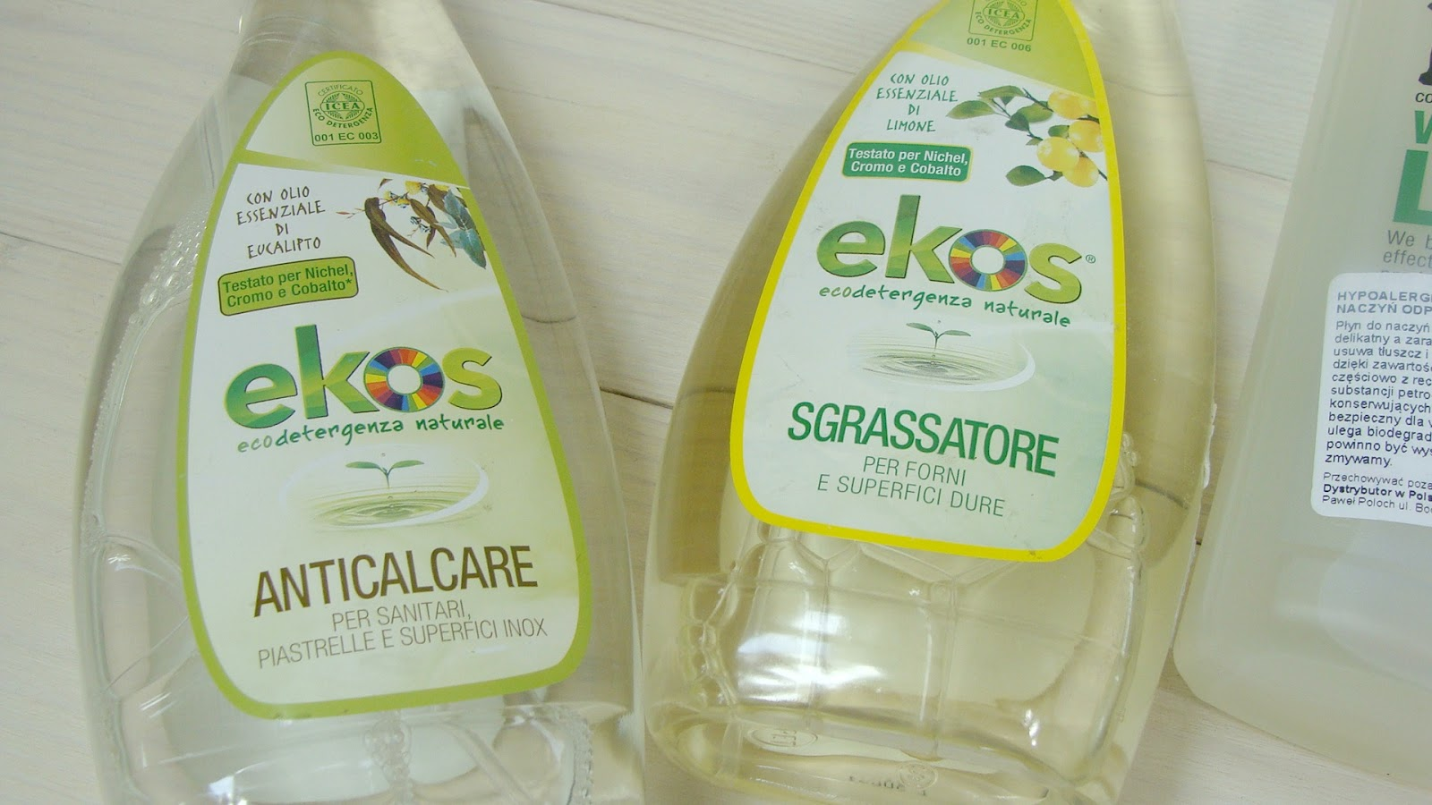 Eko sprzątanie, ekologiczne środki czystości, ekologiczne sprzątanie, ekologiczna chemia do domu, bio d, ekos