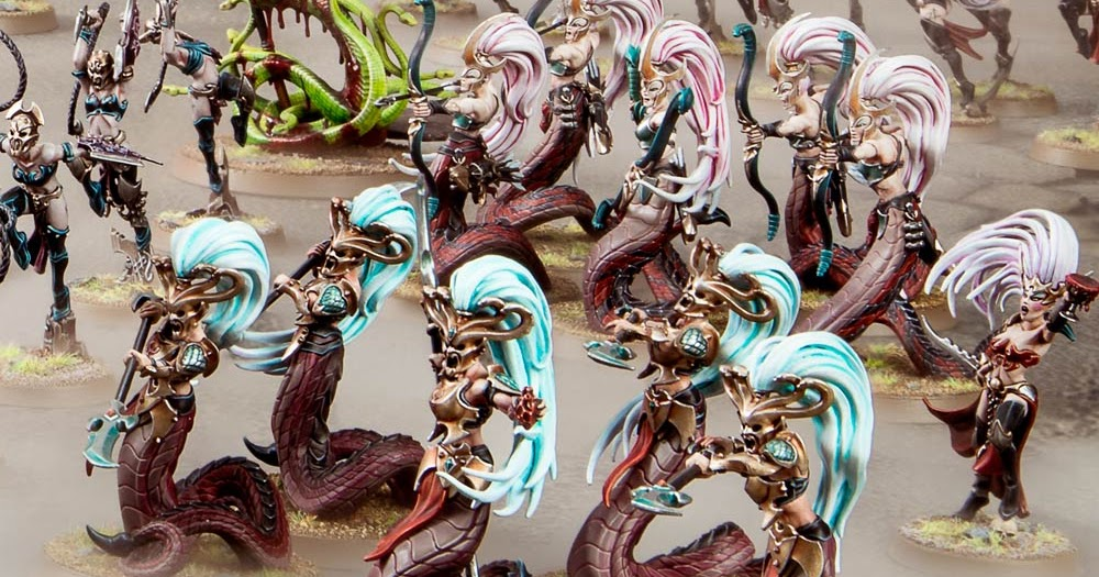 x 5 Melusai Blood Stalkers or Sisters Daughters of Khaine Warhammer AoS new