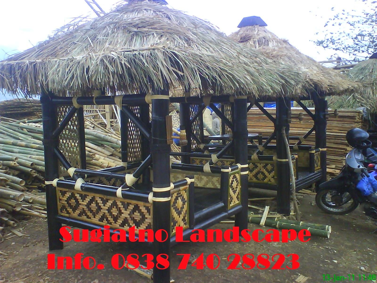 Saung-gazebo-bambu