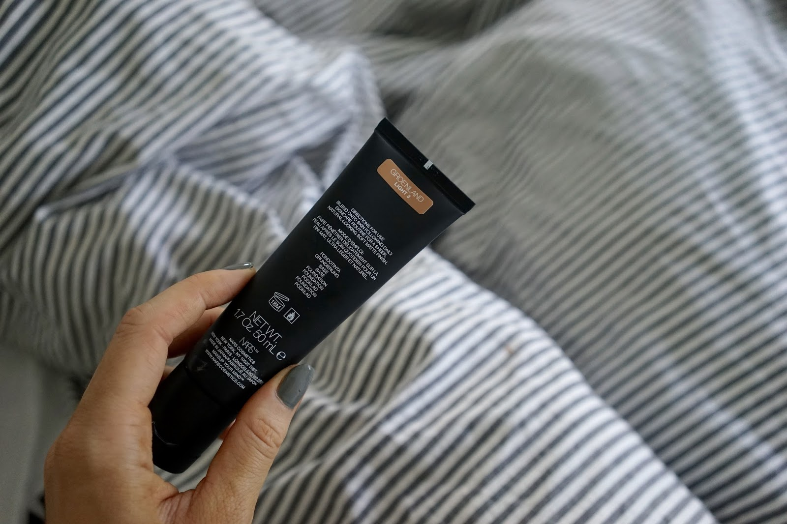 Nars Velvet Matte Skin Tint Foundation review