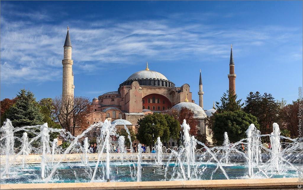 Sultan Ahmad Maydan Fountain фонтан Султанахмет Стамбул Istanbul