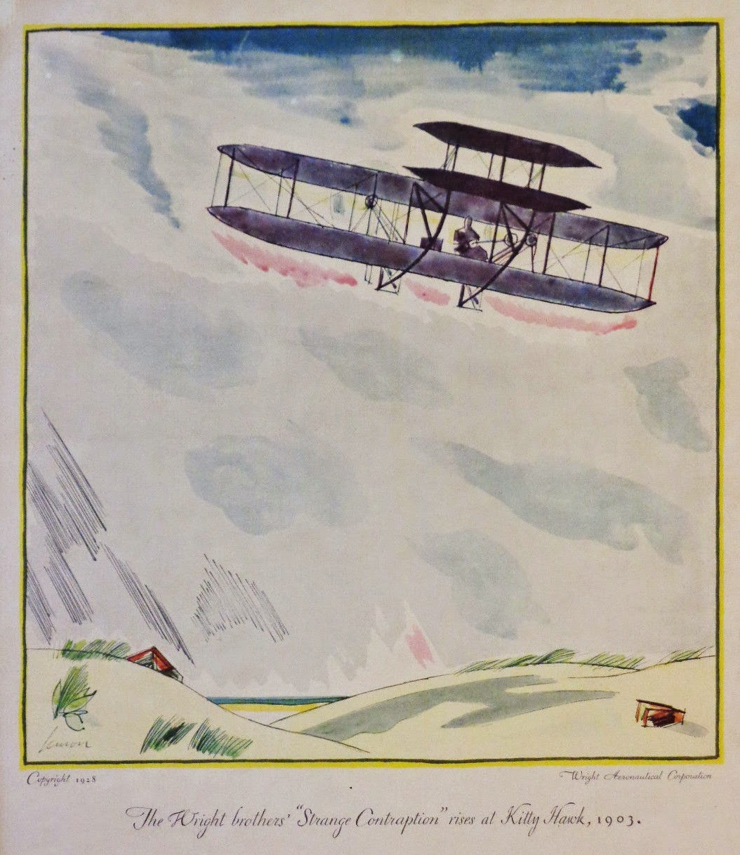 1908 flyer incorrectly represented as the 1903 flyer in artwork