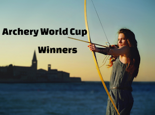 Archery World Cup, men, women, Winners, Champions, recurve, compound, Gold Medalist.