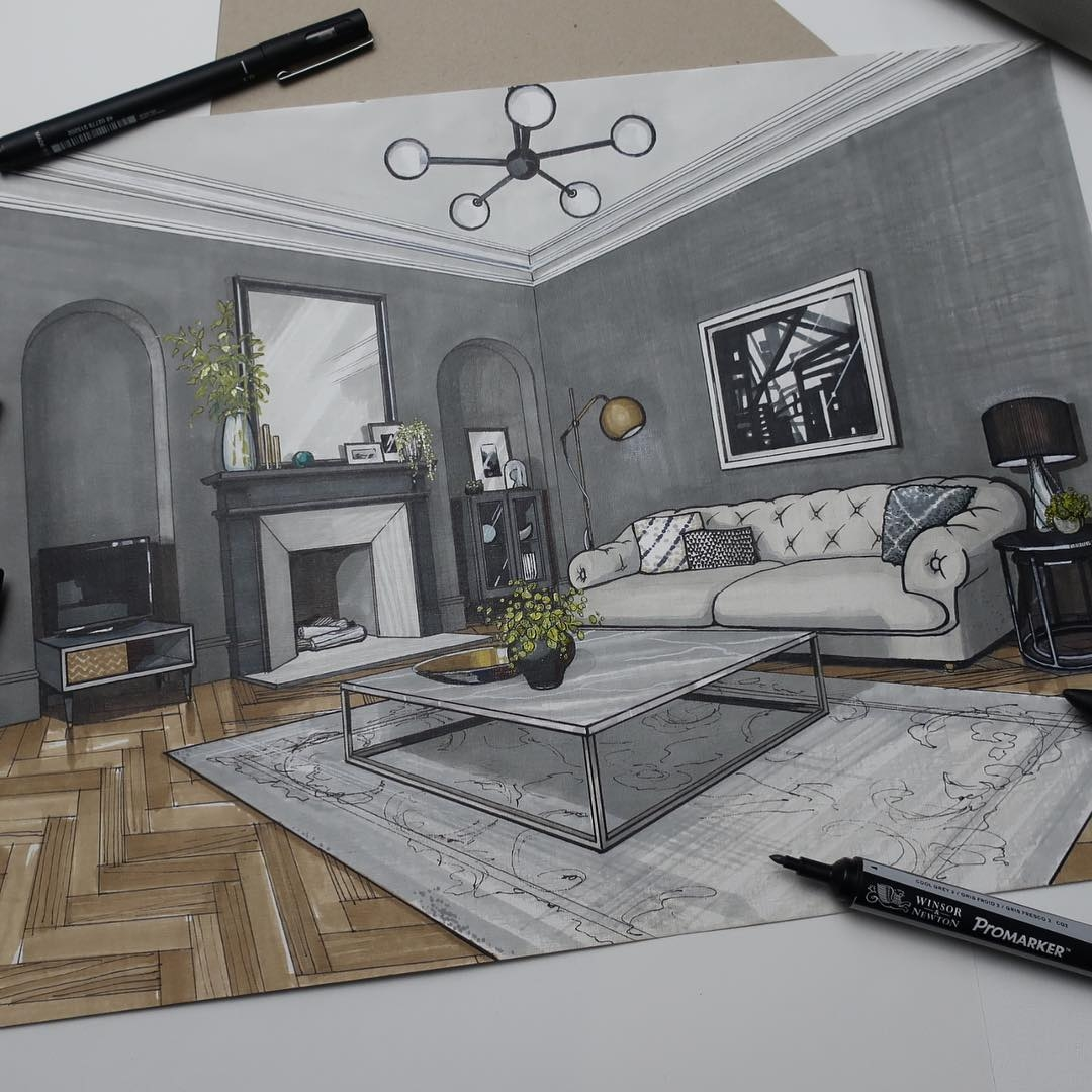 03-Living-Room-Part-Malcolm-Begg-Interior-Design-Drawings-of-a-Victorian-House-www-designstack-co