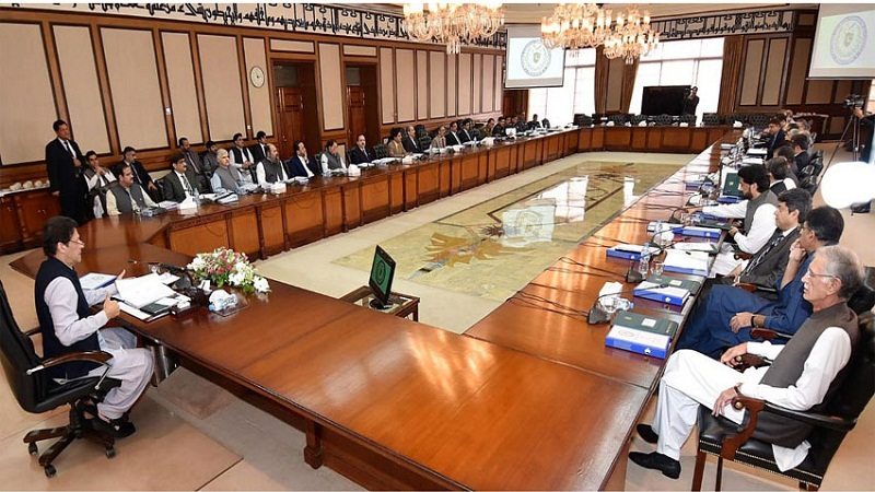 Federal Cabinet meets in Islamabad