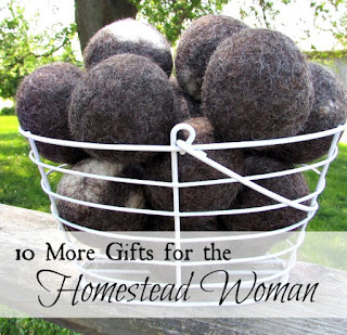 10 MORE gifts for the homestead woman (gift guide #2)