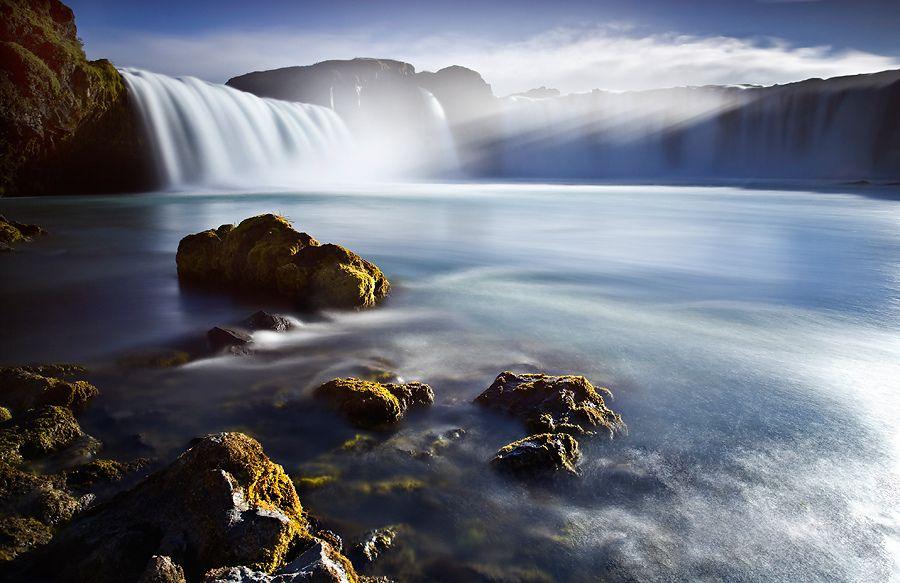 14. Goðafoss Iceland Waterfall