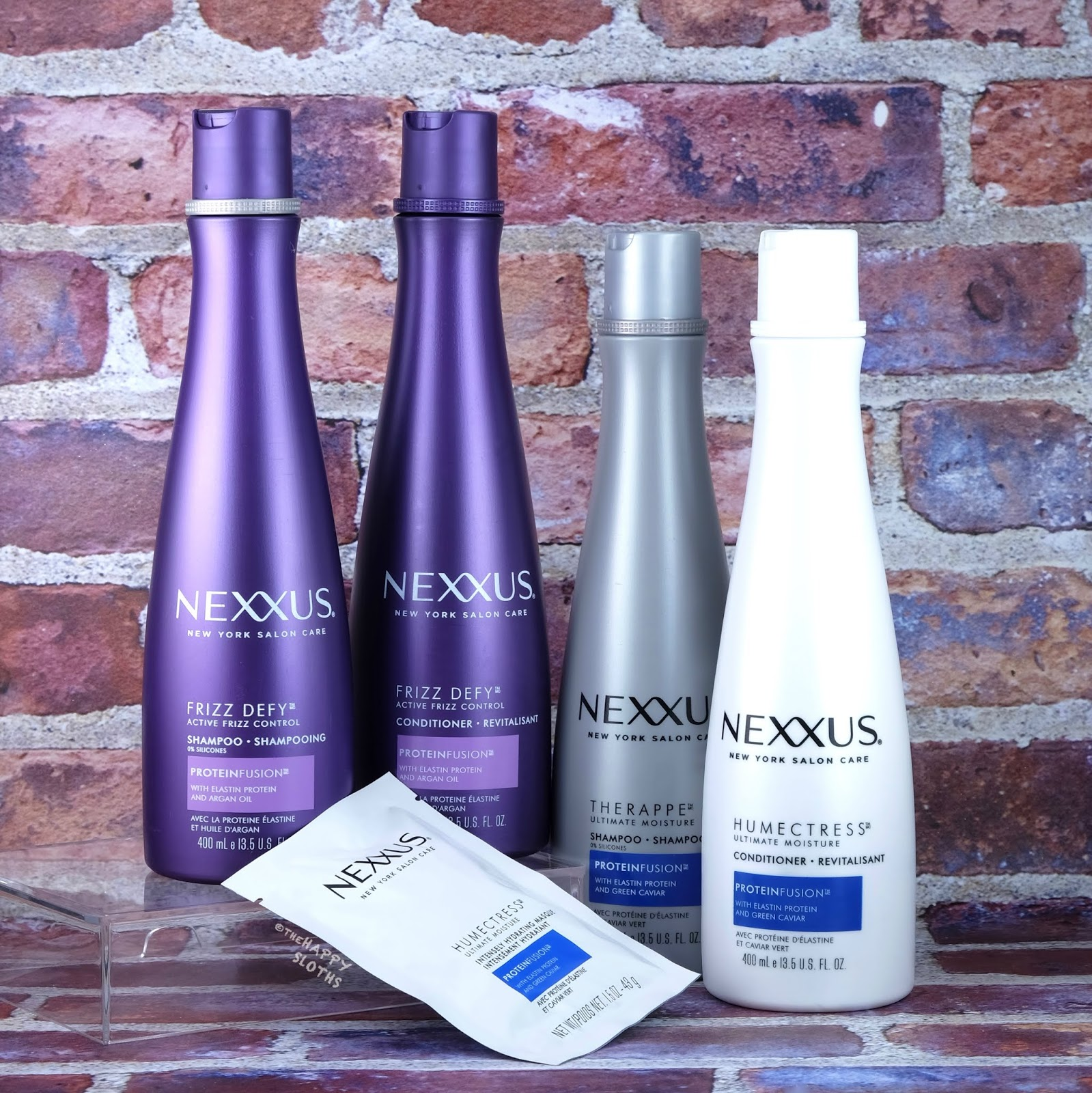 Nexxus | Frizz Defy and Therappe & Humectress Collection