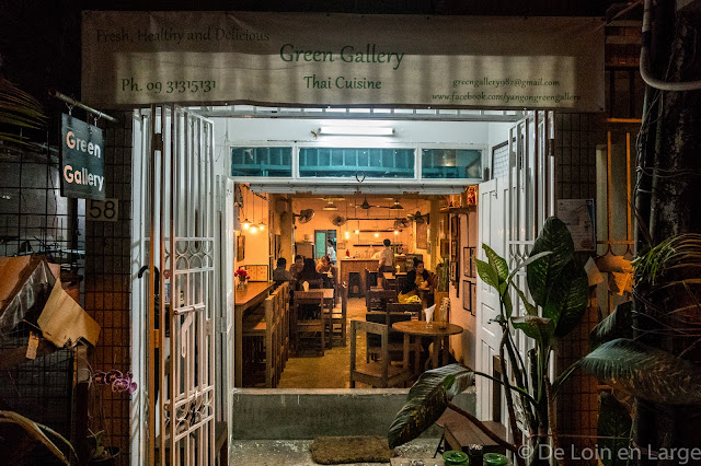 Green Gallery Restaurant-Yangon-Myanmar-Birmanie