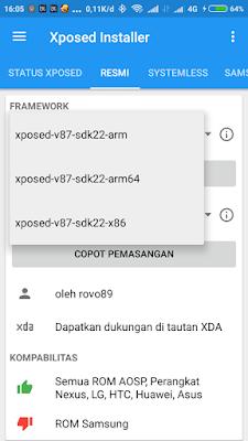 Instal Xposed Asus Zenfone Max
