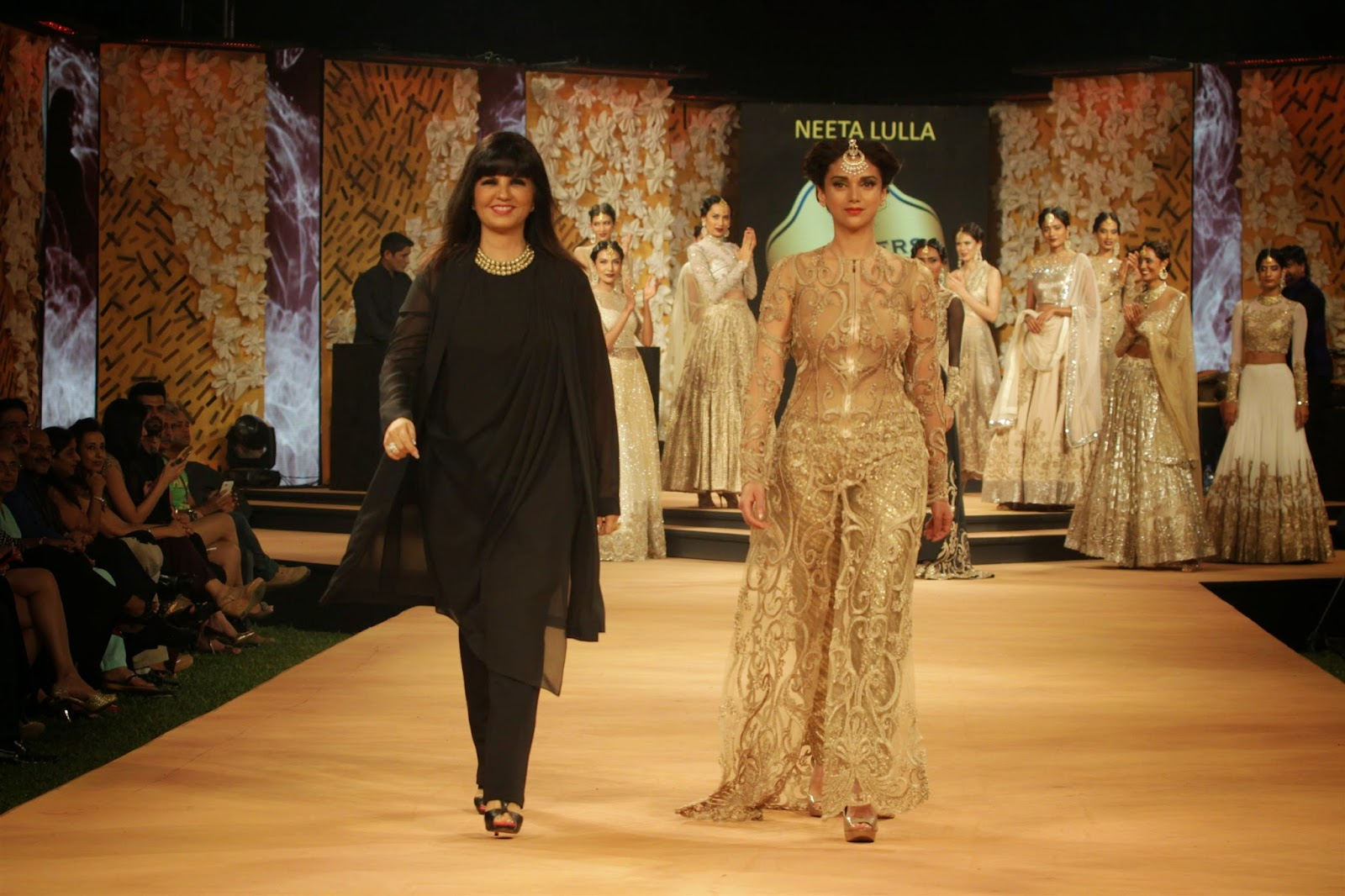 Aditi Rao Hydari  Walk The Ramp At 'Blenders Pride Fashion Week'-BPFW Day 1