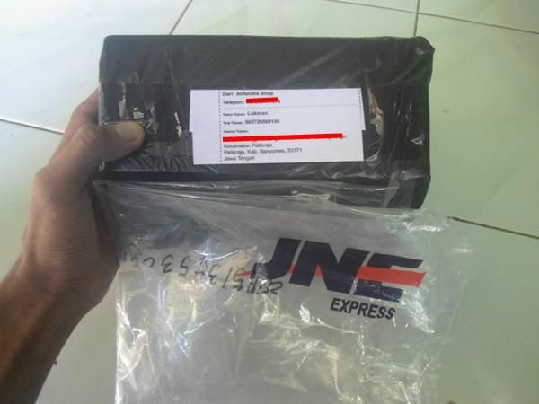 paket kiriman JNE