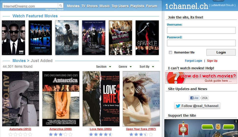 Best websites to watch movies online in hindi