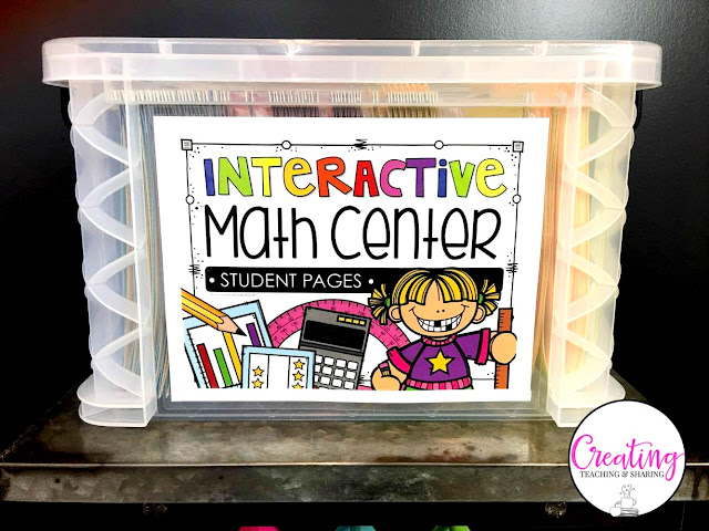 Interactive math is a great tool for your upper elementary classroom! With this one tool you can create math centers or stations, homework, pre and post assessments, test prep, interactive notebooks, small group work, whole group focused study, morning work or routines, intervention, remediation, enrichment or challenge work (GATE), and even homeschool! Your 3rd, 4th, and 5th grade classroom or home school students will love this. Click through to learn more! {third, fourth, fifth graders}
