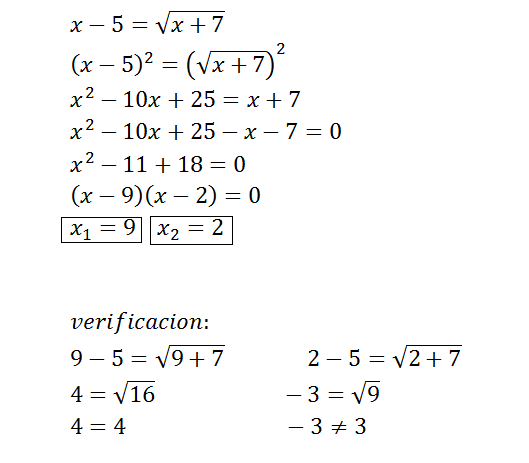 Precalculus Ecuaciones Con Radicales Y Exponenetes Racionales