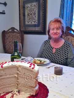 Heidi and our Exceptional White Cake