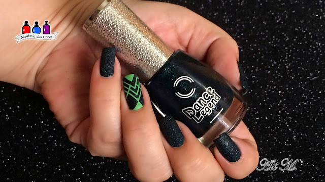 DL, Dance Legend, Sahara Crystal, Malachite, Moondust, Mountain Snow, Miramar, Sugar Bubbles, Born Pretty, Carimbo, Green, DL Stamping Nails, Ale M, SB046, BP-77