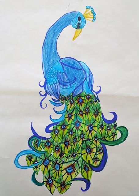 Painting by Sharanya Das from J B Petit High School, Mumbai (www.indiaart.com)