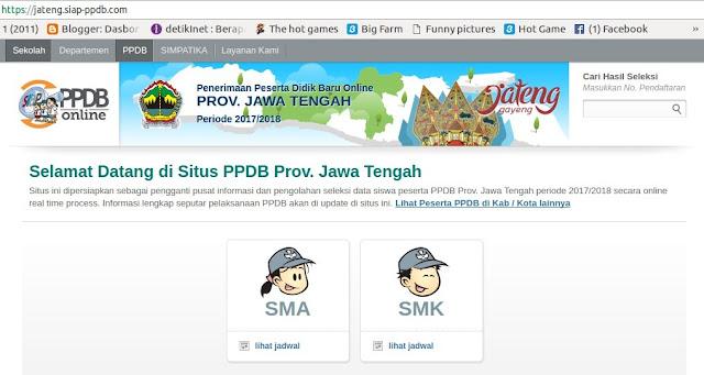 Akses Gratis Wifi Telkom untuk PPDB Online Provinsi Jawa Tengah