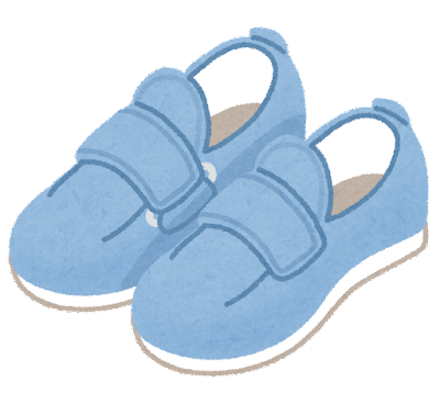 リハビリシューズ・介護靴のイラスト