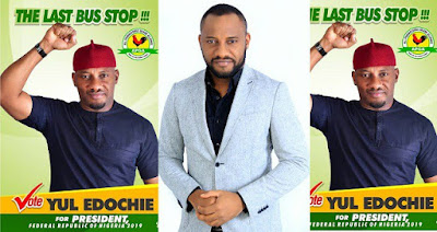 Nollywood Actor, Yul Edochie will run for 2019 Presidential Elections