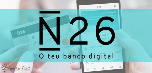 n26 banco online bank dinheiro portugal app