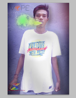 cara membuat efek asap rokok berwarna dengan photoshop