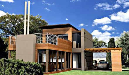 House modern style houses house for Beach house construction materials