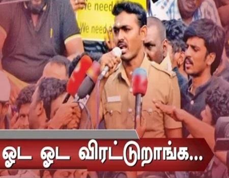 Jallikattu Protest: Police takes action against constable Mayazhagu