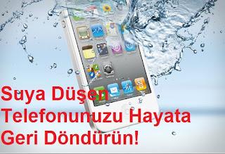 Suya Düşen Telefonunuzu Hayata Geri Döndürün!