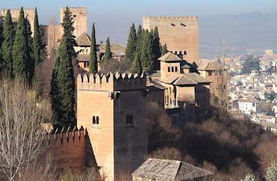 View of the Alhambra from Generalife