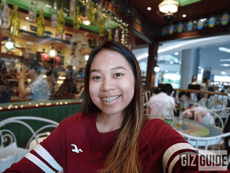 Selfie bokeh 2