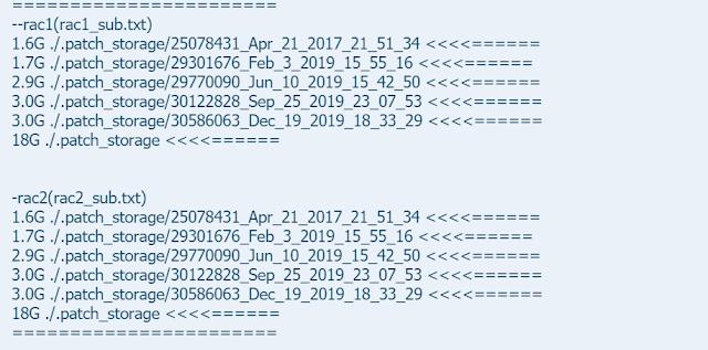 .patch_storage list
