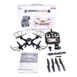 Spesifikasi Drone MJX X401H - OmahDrones