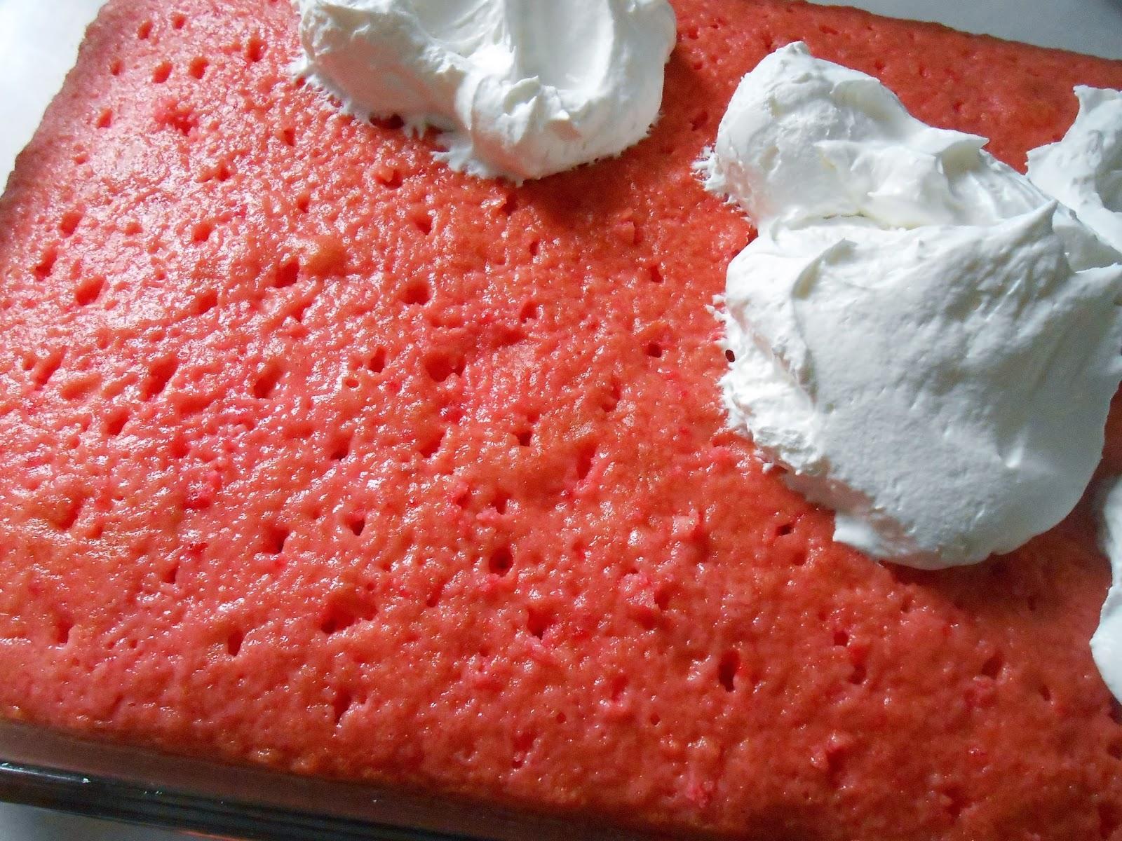 Cake Recipe Cake Jello: The Better Baker: Simple Jello Poke Cake