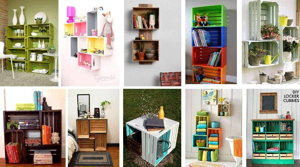 38 Creative Ideas Recycle Old Wood Box