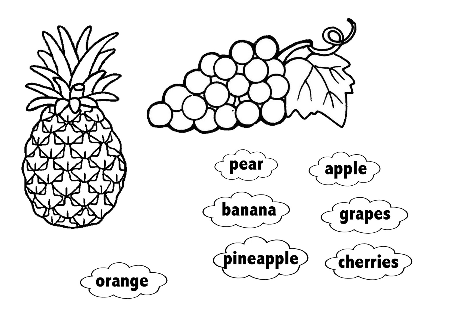 Art Projects For Kids: esl fruit bowl
