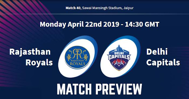 VIVO IPL 2019 Match 40 RR vs DC Match Preview, Head to Head and Trivia