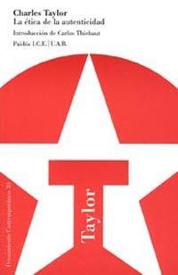 La ética de la autenticidad - Charles Taylor