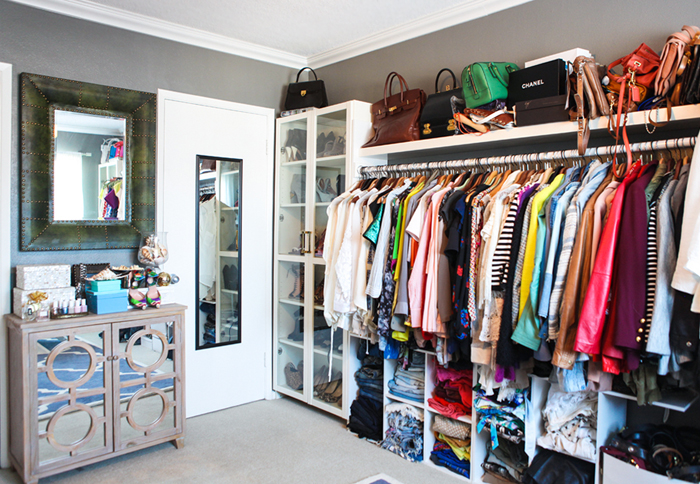 Convert Spare Bedroom Into Closet