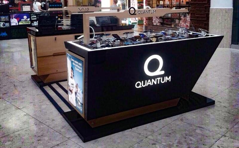 Quantum inaugura novo quiosque para venda de smartphones